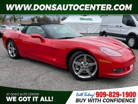 2007 Chevrolet Corvette for sale at Dons Auto Center in Fontana CA