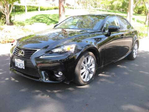 2015 Lexus IS 250 for sale at E MOTORCARS in Fullerton CA