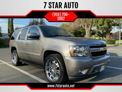 2007 Chevrolet Tahoe for sale at 7 STAR AUTO in Sacramento CA