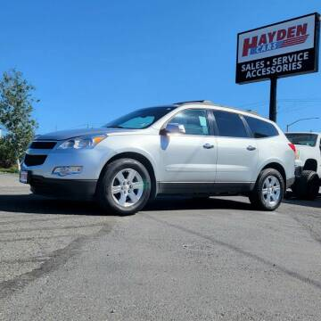 2012 Chevrolet Traverse for sale at Hayden Cars in Coeur D Alene ID