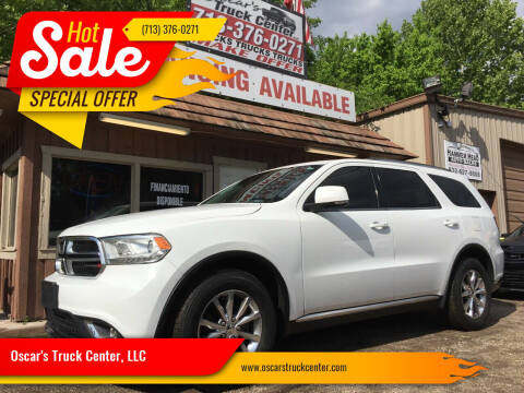 2014 Dodge Durango for sale at Oscar's Truck Center, LLC in Houston TX