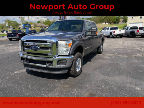 2012 Ford F-250 Super Duty for sale at Newport Auto Group in Austintown OH