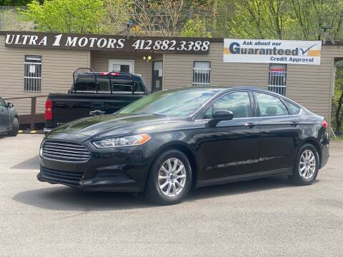 2015 Ford Fusion for sale at Ultra 1 Motors in Pittsburgh PA