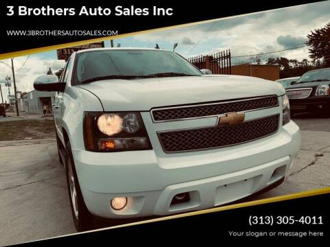 2014 Chevrolet Tahoe for sale at 3 Brothers Auto Sales Inc in Detroit MI