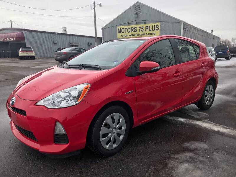 2013 Toyota Prius c for sale at Motors 75 Plus in Saint Cloud MN