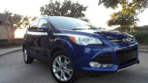 2015 Ford Escape for sale at Exhibit Sport Motors in Houston TX