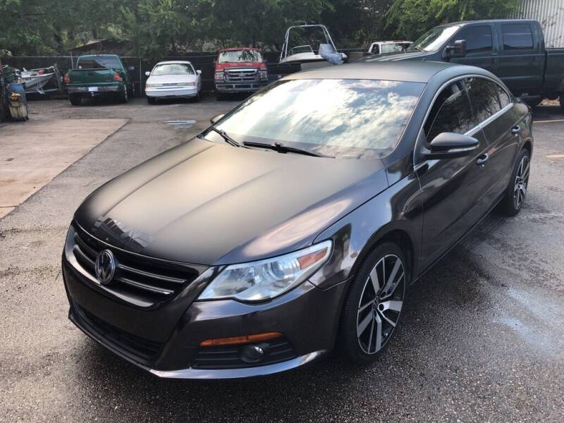 2012 Volkswagen CC for sale at 4 Girls Auto Sales in Houston TX
