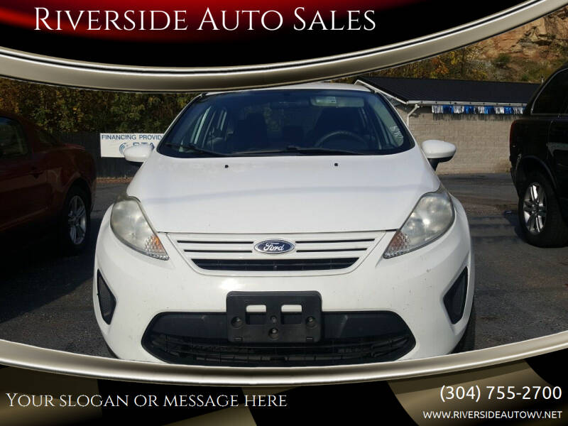 2013 Ford Fiesta for sale at Riverside Auto Sales in Saint Albans WV