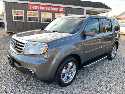 2012 Honda Pilot for sale at Y City Auto Group in Zanesville OH