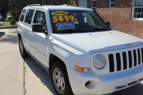 2010 Jeep Patriot for sale at MITCHELL AUTO ACQUISITION INC. in Edgewater FL