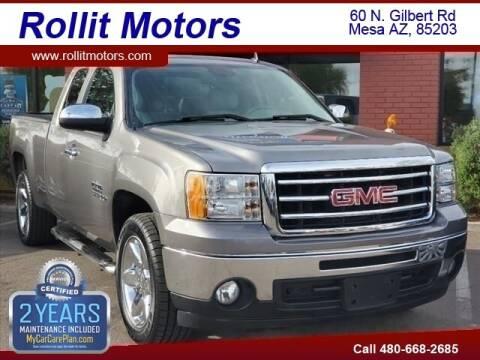 2013 GMC Sierra 1500 for sale at Rollit Motors in Mesa AZ
