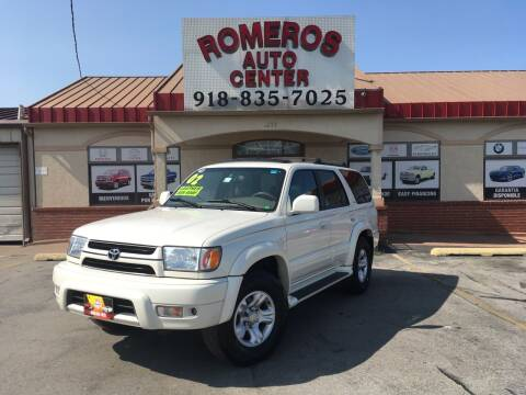 2002 Toyota 4Runner for sale at Romeros Auto Center in Tulsa OK
