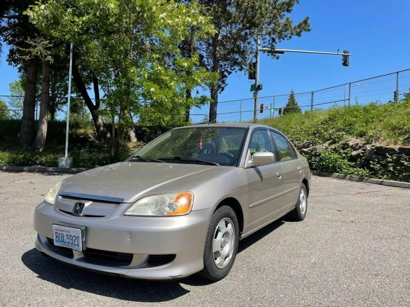 2003 Honda Civic for sale at National Motors USA in Federal Way WA
