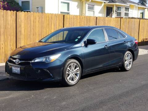 2016 Toyota Camry for sale at Gateway Motors in Hayward CA