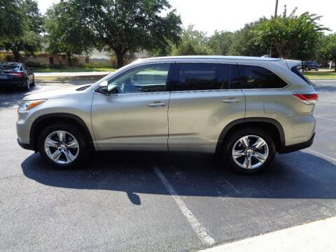 2015 Toyota Highlander for sale at BALKCUM AUTO INC in Wilmington NC