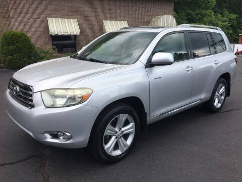 2008 Toyota Highlander for sale at Depot Auto Sales Inc in Palmer MA