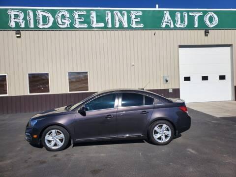 2015 Chevrolet Cruze for sale at RIDGELINE AUTO in Chubbuck ID