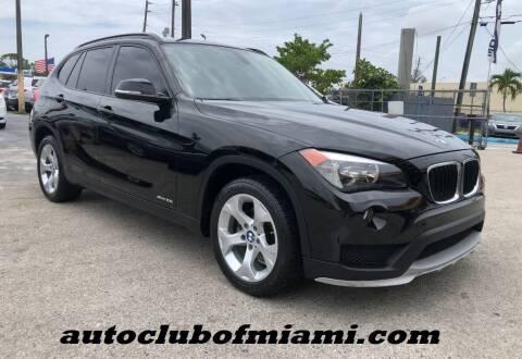 2015 BMW X1 for sale at AUTO CLUB OF MIAMI, INC in Miami FL