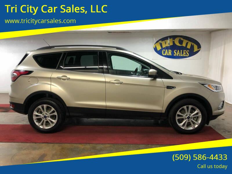 2017 Ford Escape for sale at Tri City Car Sales, LLC in Kennewick WA