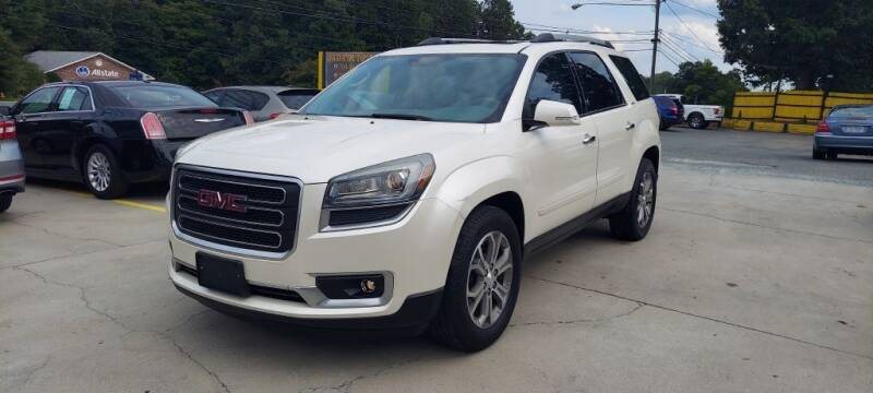 2013 GMC Acadia for sale at DADA AUTO INC in Monroe NC