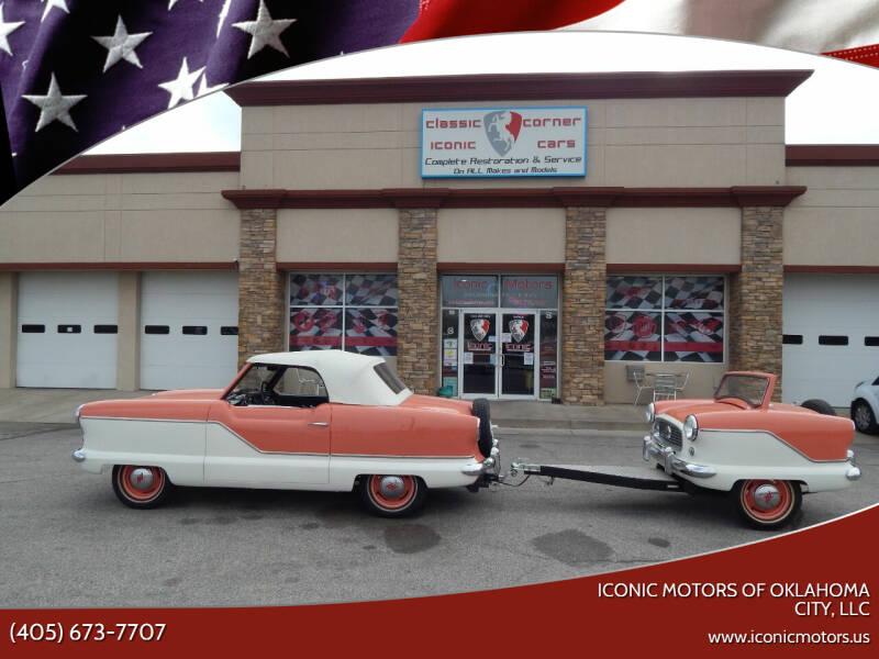1959 Hudson By American Motors Metropolitan for sale at Iconic Motors of Oklahoma City, LLC in Oklahoma City OK