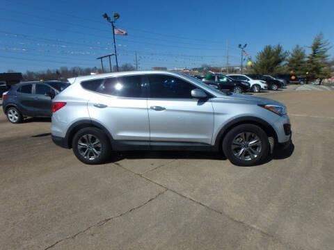 2016 Hyundai Santa Fe Sport for sale at BLACKWELL MOTORS INC in Farmington MO