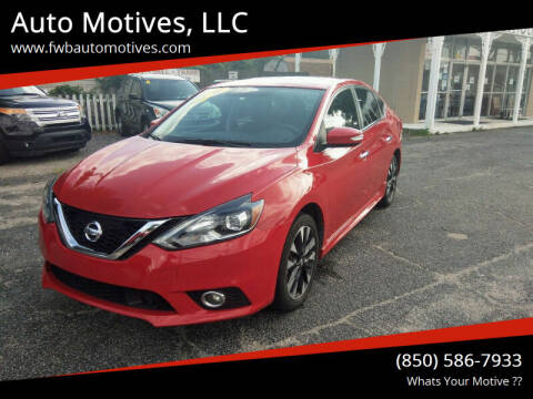 2017 Nissan Sentra for sale at Auto Motives, LLC in Fort Walton Beach FL