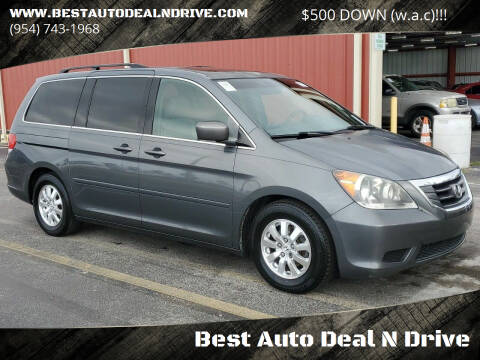 2010 Honda Odyssey for sale at Best Auto Deal N Drive in Hollywood FL