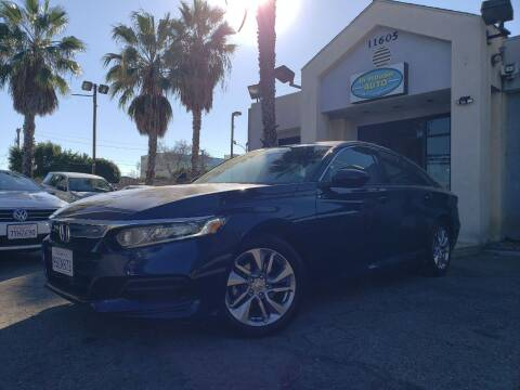 2018 Honda Accord for sale at In-House Auto Finance in Hawthorne CA