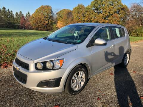 2015 Chevrolet Sonic for sale at Hutchys Auto Sales & Service in Loyalhanna PA