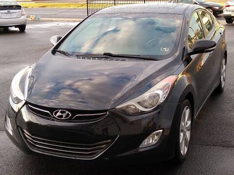 2012 Hyundai Elantra for sale at MAGIC AUTO SALES in Little Ferry NJ