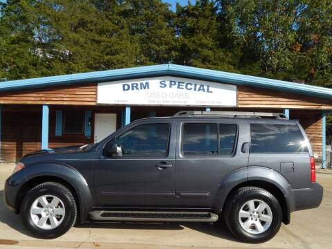 2012 Nissan Pathfinder for sale at DRM Special Used Cars in Starkville MS