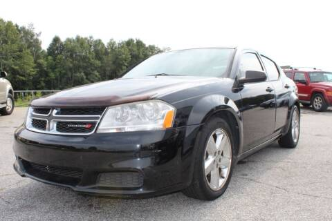 2013 Dodge Avenger for sale at UpCountry Motors in Taylors SC