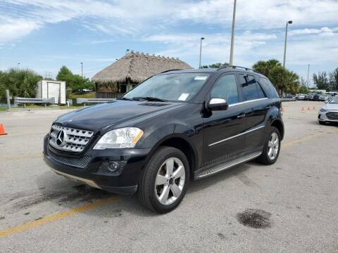 2010 Mercedes-Benz M-Class for sale at Best Auto Deal N Drive in Hollywood FL