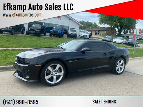 2012 Chevrolet Camaro for sale at Efkamp Auto Sales LLC in Des Moines IA