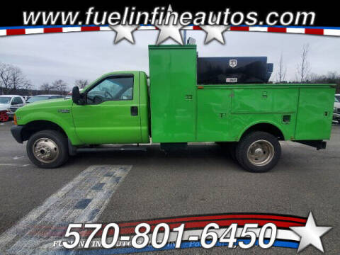 1999 Ford F-550 Super Duty for sale at FUELIN FINE AUTO SALES INC in Saylorsburg PA