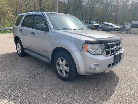 2008 Ford Escape for sale at George Strus Motors Inc. in Newfoundland NJ