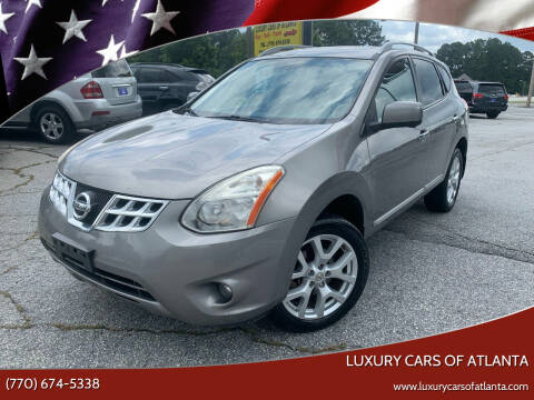 2012 Nissan Rogue for sale at Luxury Cars of Atlanta in Snellville GA