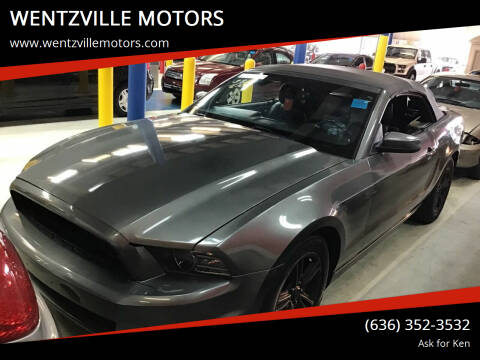 2013 Ford Mustang for sale at WENTZVILLE MOTORS in Wentzville MO