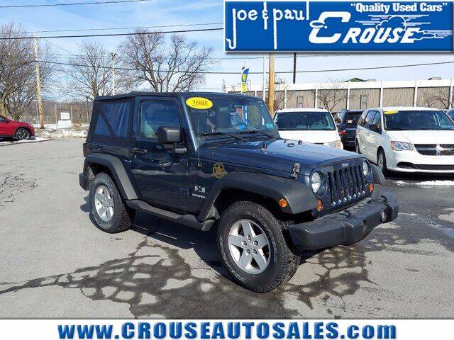 2008 Jeep Wrangler for sale at Joe and Paul Crouse Inc. in Columbia PA