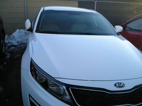 2015 Kia Optima for sale at ZJ's Custom Auto Inc. in Roseville MI
