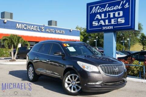 2016 Buick Enclave for sale at Michael's Auto Sales Corp in Hollywood FL