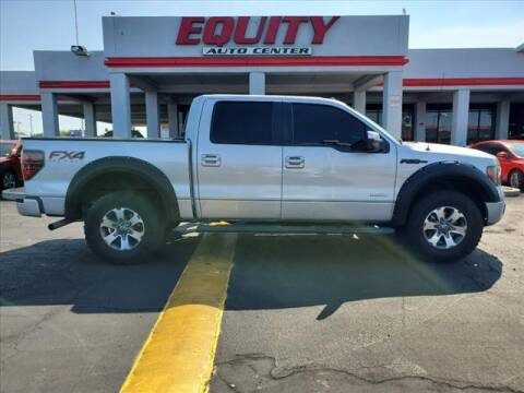 2012 Ford F-150 for sale at EQUITY AUTO CENTER in Phoenix AZ