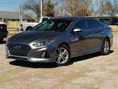 2018 Hyundai Sonata for sale at Bryans Car Corner in Chickasha OK