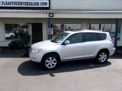 2008 Toyota RAV4 for sale at PJ's Auto Center in Salem OR