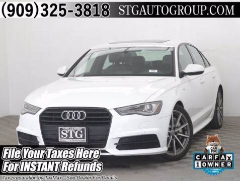 2017 Audi A6 for sale at STG Auto Group in Montclair CA