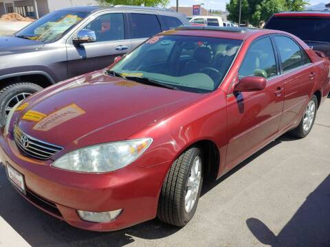 2005 Toyota Camry for sale at Boulevard Motors in St George UT