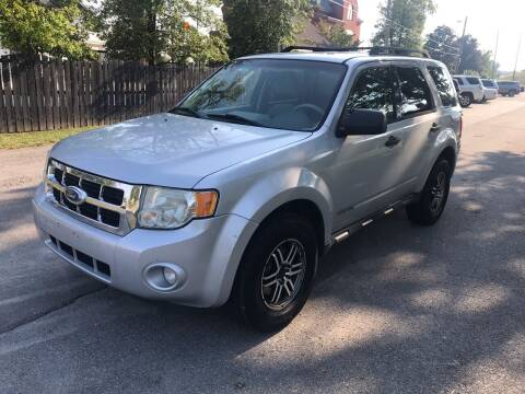 2008 Ford Escape for sale at Eddie's Auto Sales in Jeffersonville IN
