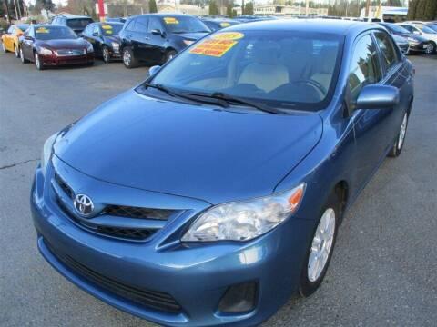2013 Toyota Corolla for sale at GMA Of Everett in Everett WA