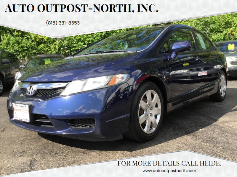 2009 Honda Civic for sale at Auto Outpost-North, Inc. in McHenry IL